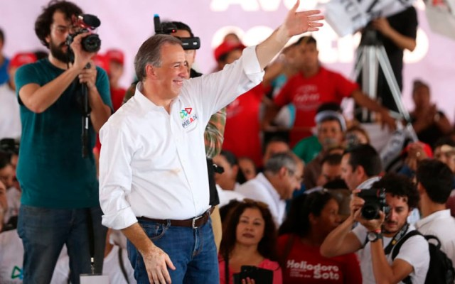 Meade pide a los ciudadanos voto útil y responsable - Foto de Milenio