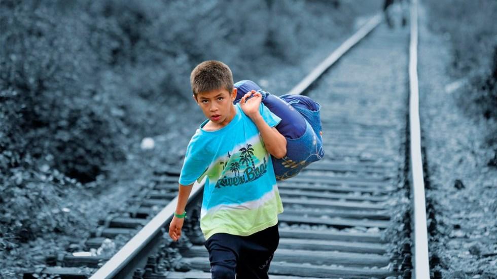 Cifra de niños migrantes que viajan solos alcanza máximos históricos: Unicef - Foto de @UNICEFMexico