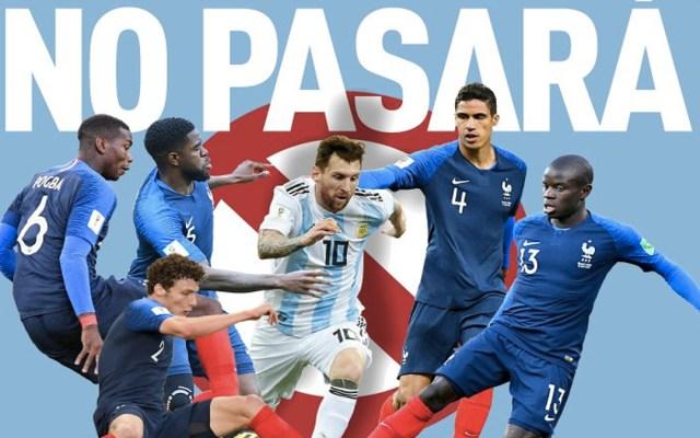 L'Équipe confía en eliminación de Argentina y Messi - Foto de @lequipe