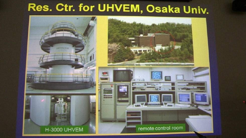 Sismo de 6.1 en Japón dañó el microscopio más potente del mundo - Foto de internet