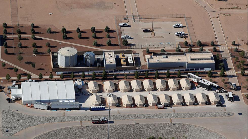 La vida de los niños migrantes en los centros de detención de EE.UU. - Foto de The Atlantic