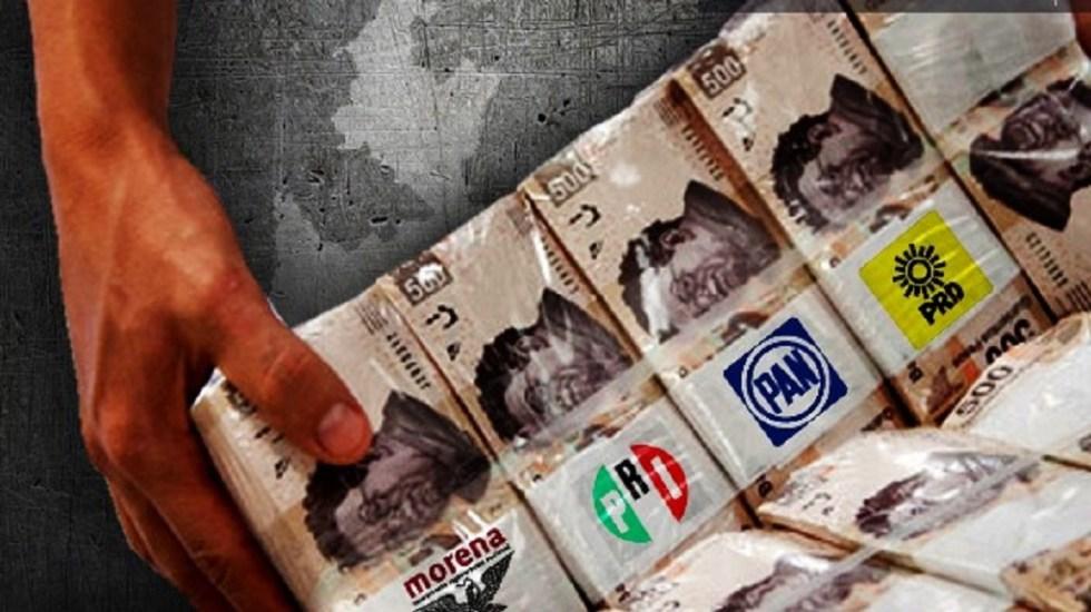 Partidos políticos reciben 12 mil mdp, cifra récord en elecciones - Foto de Ángulo 7