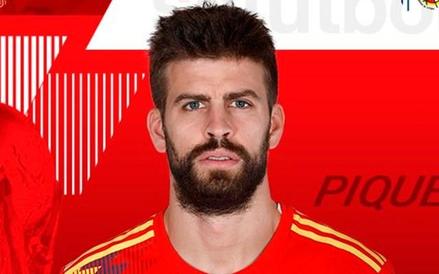Piqué deja entrenamiento de España por molestia en rodilla - Foto de @SeFutbol