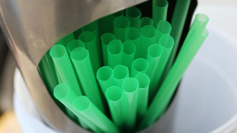 Toluca prohíbe el uso de popotes y bolsas de plástico en negocios - Foto de Internet