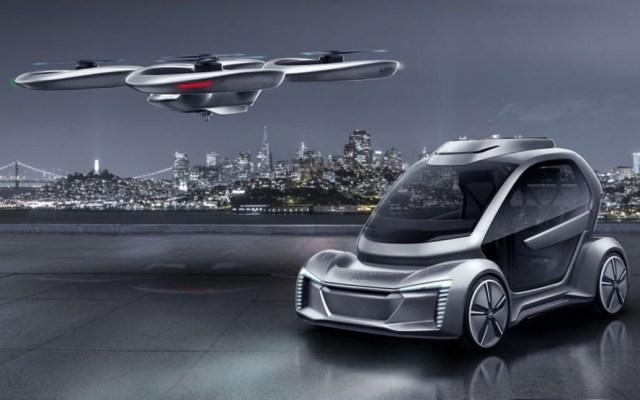 Audi y Airbus listos para probar taxi aéreo