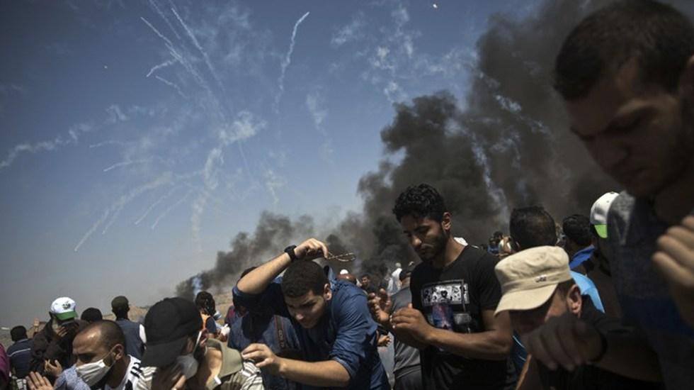 Al menos 413 heridos por protestas en Gaza - Foto de AP