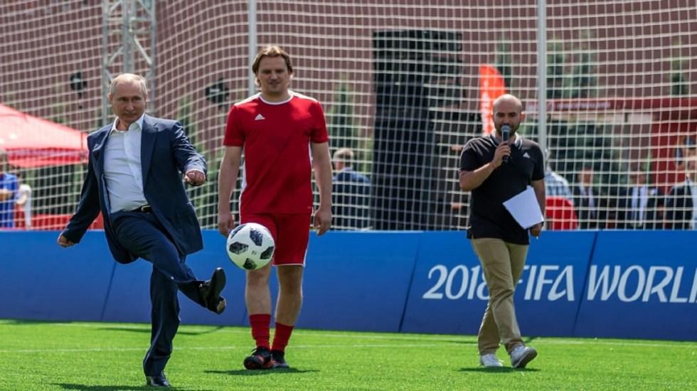 #Video Putin desafía a Iker Casillas en el Mundial de Rusia - Foto de FIFA