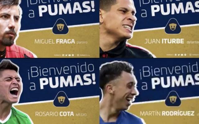 Las transferencias de Pumas para el Apertura 2018