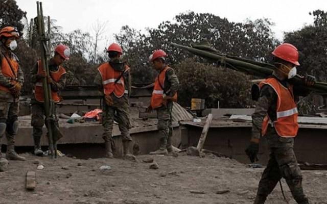 Suman 147 muertos por erupción de volcán de Fuego en Guatemala - Foto de EFE