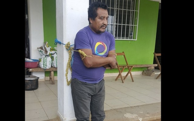 Se cumplen 20 días de retención de Ramiro González Patishtán - Foto de Excélsior
