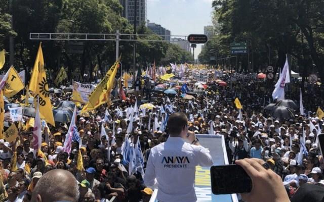 Anaya promete castigar corrupción e impunidad - Foto de @RicardoAnayaC