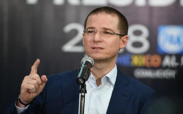 Confirma Tribunal Electoral multa a Ricardo Anaya por calumnias - Foto de internet