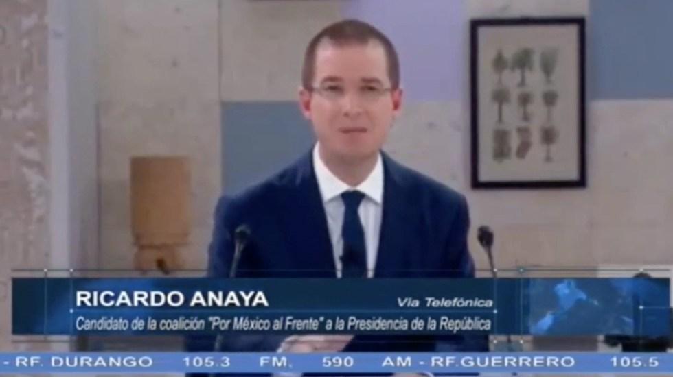 Riobóo es el contratista favorito de AMLO: Anaya - Captura de Pantalla