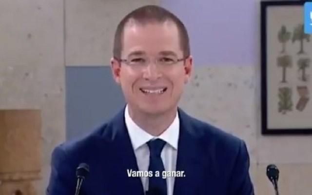 Ricardo Anaya se declara ganador del tercer debate