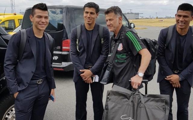 La Selección Mexicana aterriza en Rusia - Foto de @miseleccionmx
