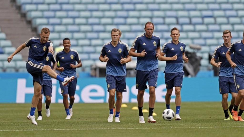 Suecia pierde a cuatro jugadores para el partido contra Alemania - Foto de EFE