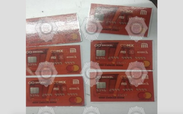 Capturan a menor por vender tarjetas del Metro falsas en la CDMX - Foto de @UCS_CDMX
