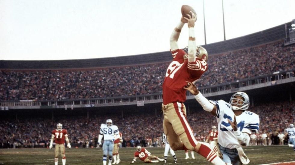 Muere Dwight Clark, legendario jugador de 49ers de San Francisco - Foto de @49ers