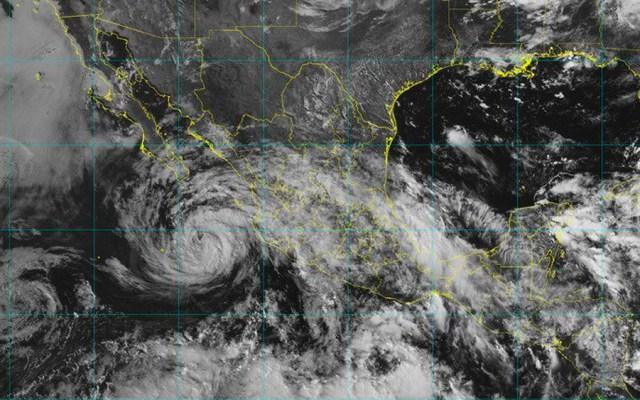 Suspenderán clases en BCS por tormenta tropical Bud - Foto de @conagua_clima