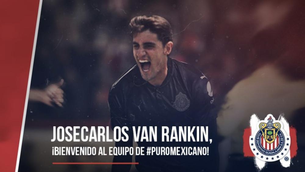 Josecarlos Van Rankin es nuevo jugador de Chivas