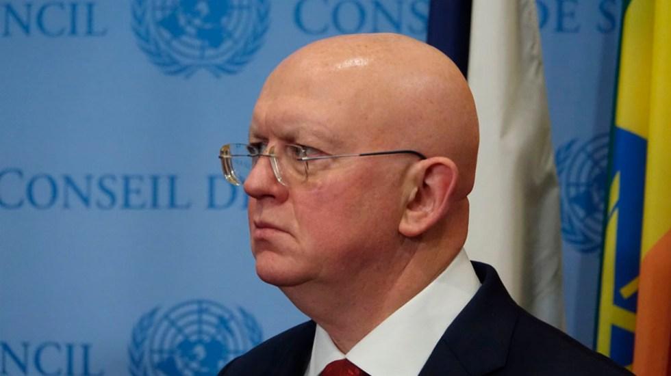 Rusia pide a ONU levantamiento de sanciones contra Corea del Norte - Vassily Nebenzia. Foto de  internet