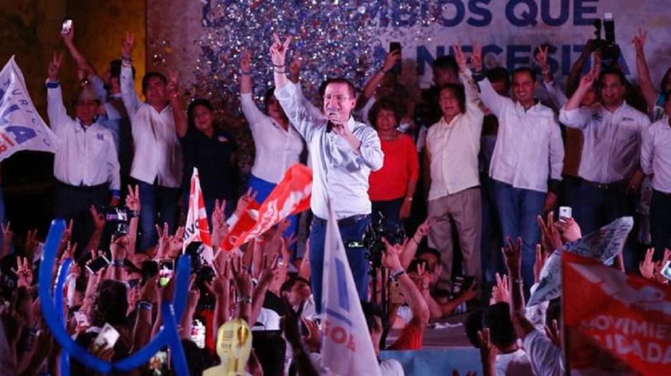 Anaya reitera exigencia al gobierno de no inmiscuirse en el proceso electoral - Foto de Twitter