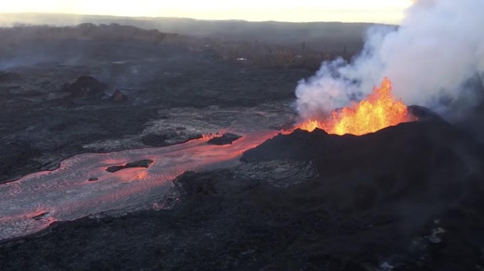 #Video Difunde USGS dramáticas imágenes de la erupción del Kilauea - Foto de USGS