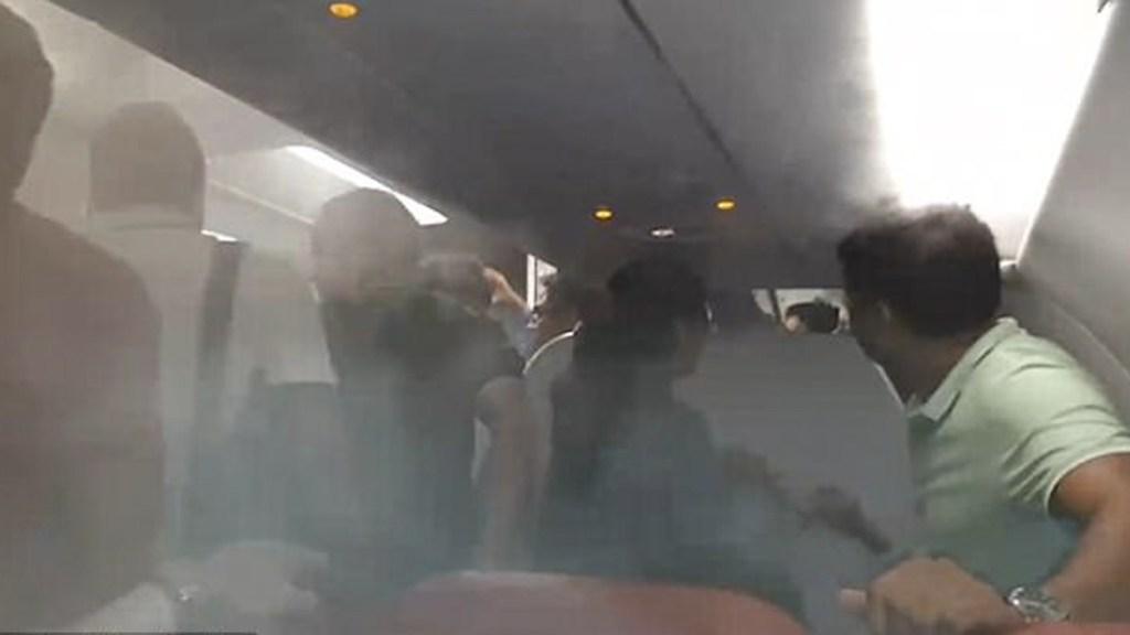 #Video Piloto hace vomitar a pasajeros de AirAsia a propósito - Captura de pantalla