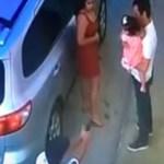 #Video Ejecutan a abogado enfrente de su hija
