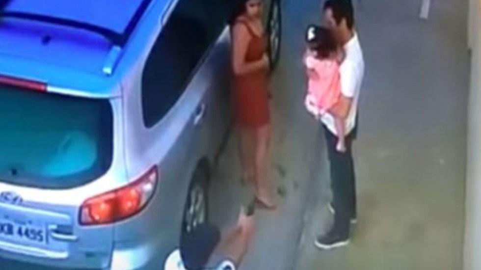 #Video Ejecutan a abogado en frente de su hija