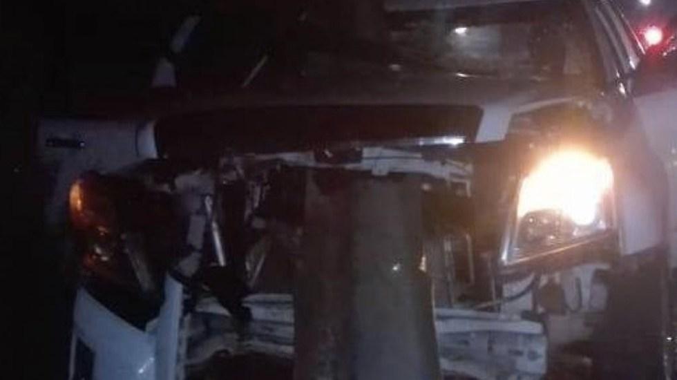 Accidente en la autopista Siglo 21 deja cinco lesionados - Foto de Quadratín