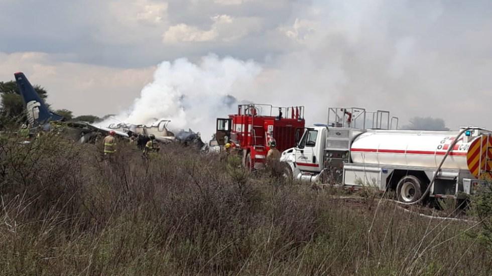 PGR abre indagatoria por accidente aéreo en Durango