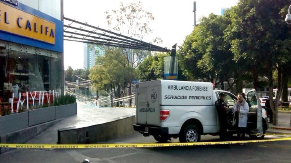 Agresores de cadenero en taquería de las Lomas huyeron al Estado de México - Foto de Twitter