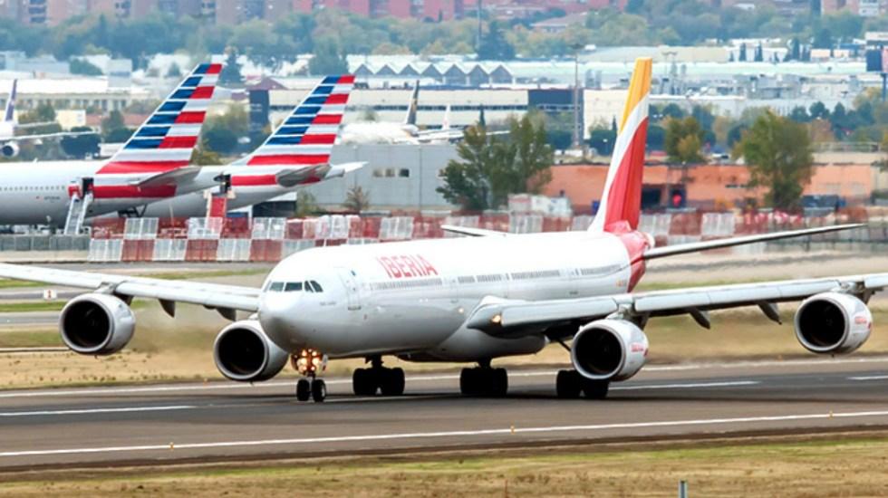 Emergencia en vuelo de Iberia - Foto de Iberia
