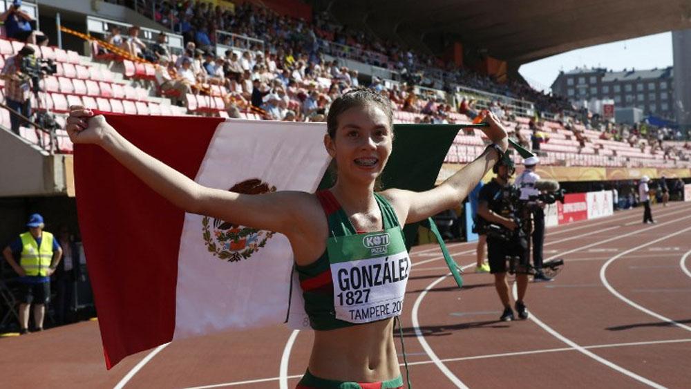 Atletas mexicanos ganan medallas de oro en Mundial de Atletismo Sub-20 - Foto de Kalle Parkkinen / AFP