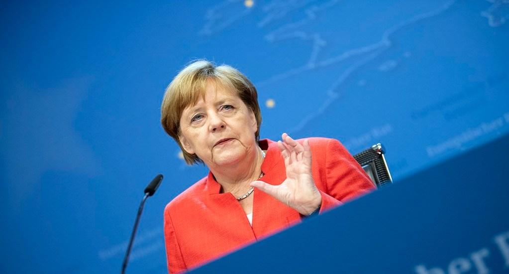Merkel dejará de ser canciller de Alemania en 2021 - Foto de @RegSprecher