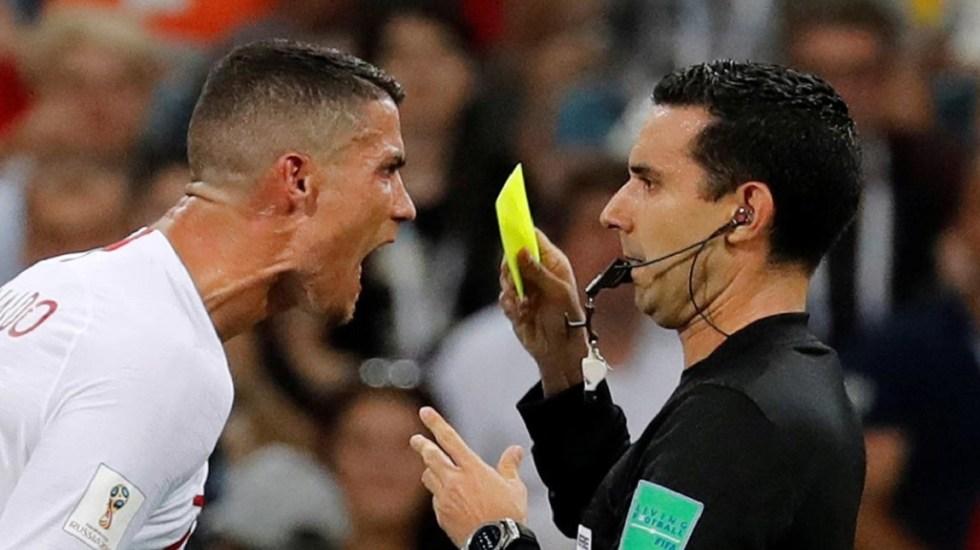 Árbitro mexicano revela reclamo de Cristiano Ronaldo en el Mundial - Foto de Reuters