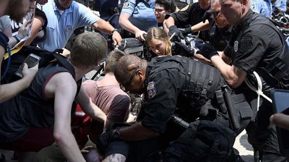 #Video Manifestaciones en Filadelfia suman 30 detenidos