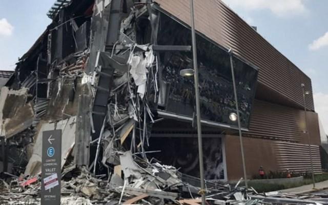 Continuan afectaciones en Periférico tras derrumbe de Artz Pedregal - Foto de Quadratín