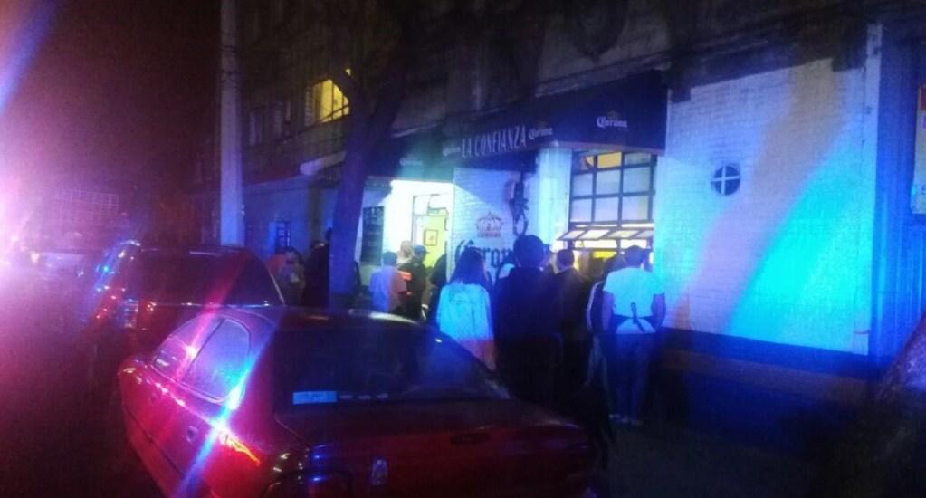Asesinan a mesero en cervecería de la Ciudad de México - Foto de @MrElDiablo8