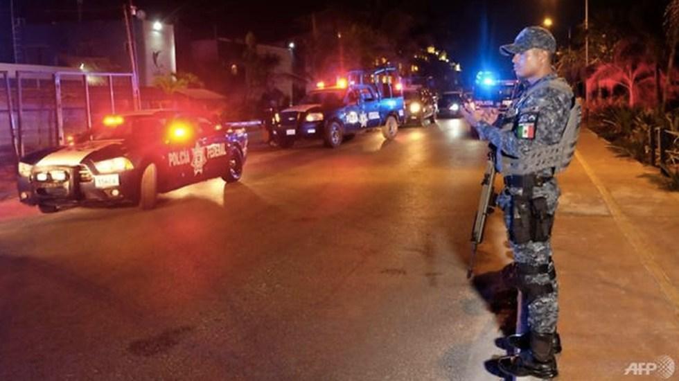 Matanza en Quintana Roo habría sido realizada por el CJNG - Foto de AFP