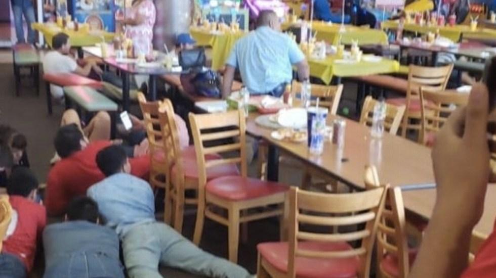 Publican fotos y videos de balaceras en Nuevo Laredo - Foto de Internet
