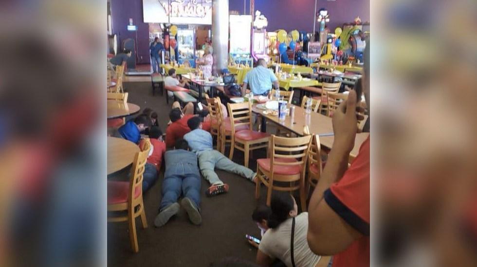 #Video Balaceras azotan Nuevo Laredo - Foto de @charlesleonards