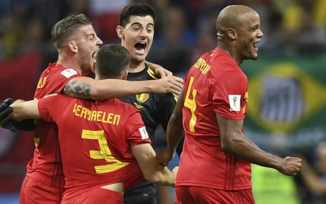 Bélgica elimina a Brasil del Mundial 2018 - Foto de Manan Vatsyayana / AFP