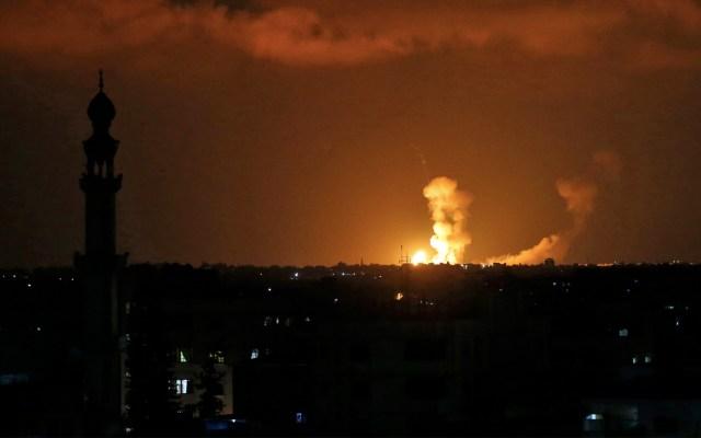ONU llama a evitar guerra tras bombardeos de Israel en Gaza - Foto de Said Khatib/AFP