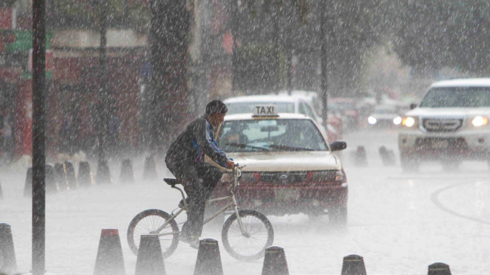 Se esperan lluvias con tormentas eléctricas en la Ciudad de México