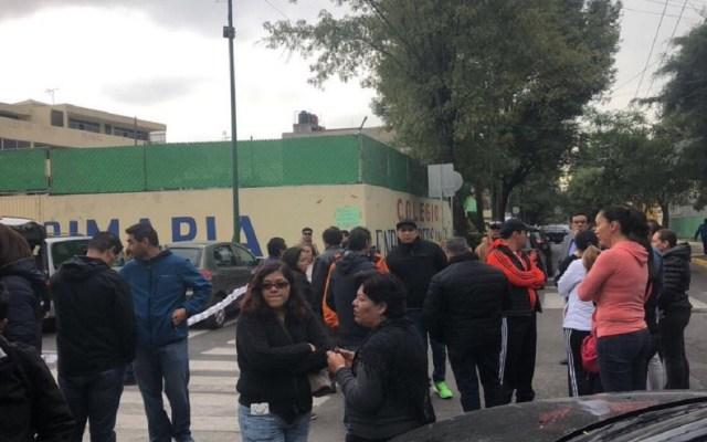 Amieva acepta no demoler el Colegio Rébsamen - Foto de Twitter
