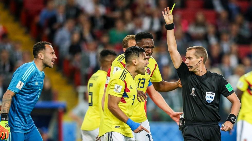 Colombianos piden revisión del partido contra Inglaterra - Foto de Mexsport