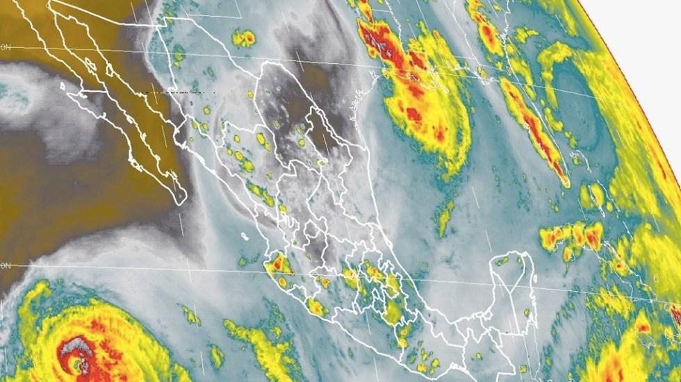 Prevén tormentas puntuales fuertes en todo el país - Foto de Conagua