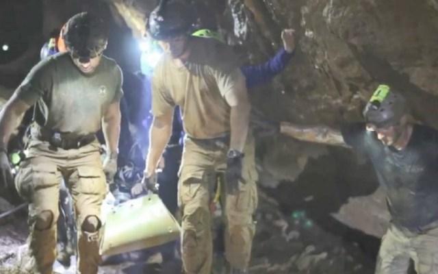 """Cueva de niños atrapados en Tailandia será """"museo viviente"""" - Foto de AFP / Thai Navy"""